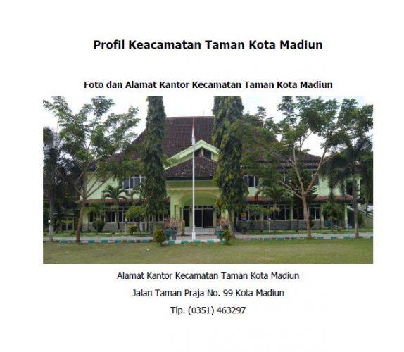 Profil Kecamatan Taman Kota Madiun
