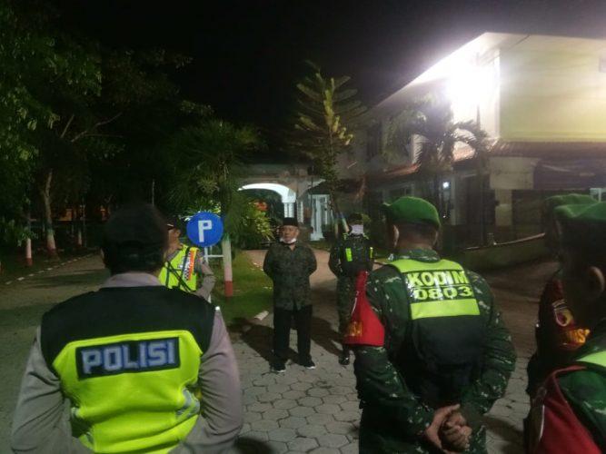 Operasi lanjutan penceghan Virus Corona bersama Tiga Pilar di wilayah Kecamatan Taman