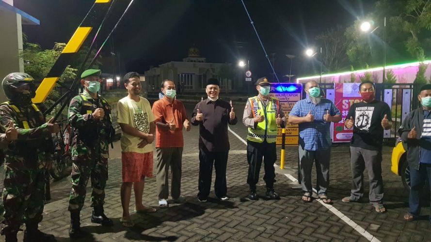 Operasi Cegah Corona bersama Tiga Pilar Kec. Taman